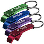Aluminum Bottle Can Opener Key Rings